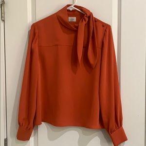 Aritzia wildfred Trapeze blouse size s